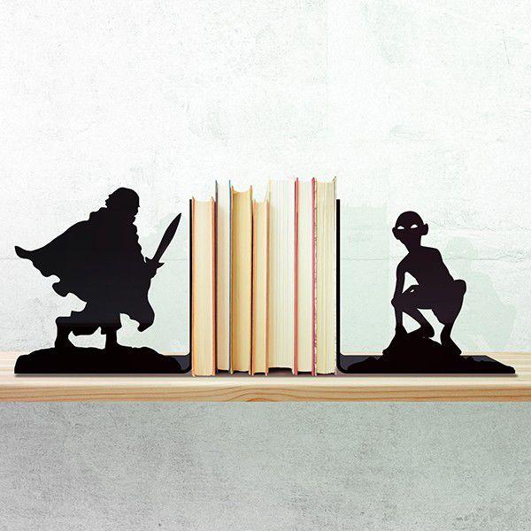 Porta Livros Terra Media