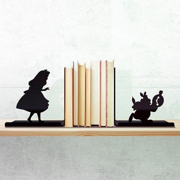 Porta Livros Wonderland