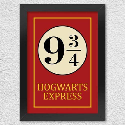Poster Com Moldura Hogwarts Express