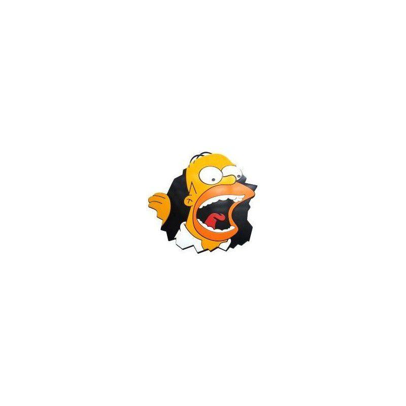 Quadro Homer - Gritando