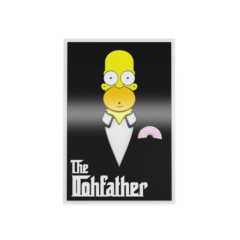 Quadro Homer Simpsons - The Dohfather