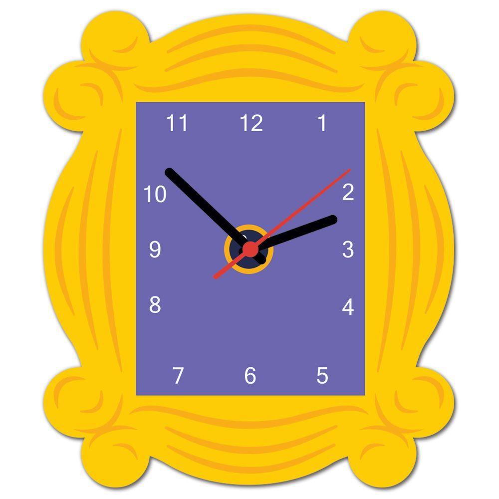 Relógio de Parede Friends Quadro