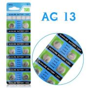 Baterias/ Pilha Ag13 LR44 1.55v Tmi - Cartela lacrada com 10 Unidade