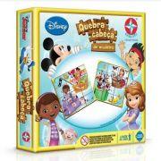 Quebra Cabeça Duplo de Madeira Disney - 12 peças cada.