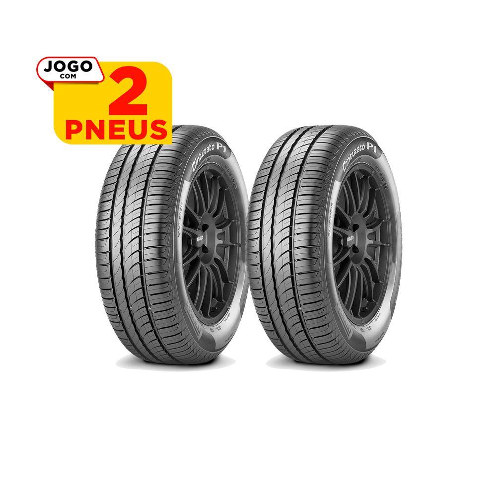 2 PNEUS PIRELLI ARO 15 - 195/60R15 - CINTURATO P1 - 88H - ORIGINAL FIAT IDEA