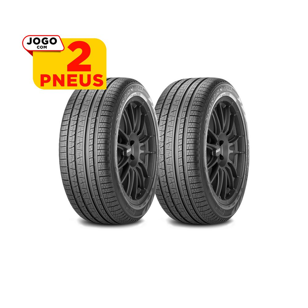 2 PNEUS PIRELLI ARO 18 - 255/60R18 - SCORPION VERDE ALL SEASON - 112H