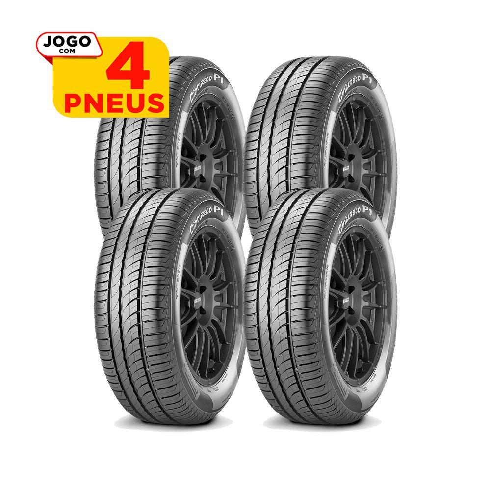 4 PNEUS PIRELLI ARO 15 - 195/60R15 - CINTURATO P1 - 88H - ORIGINAL FIAT IDEA