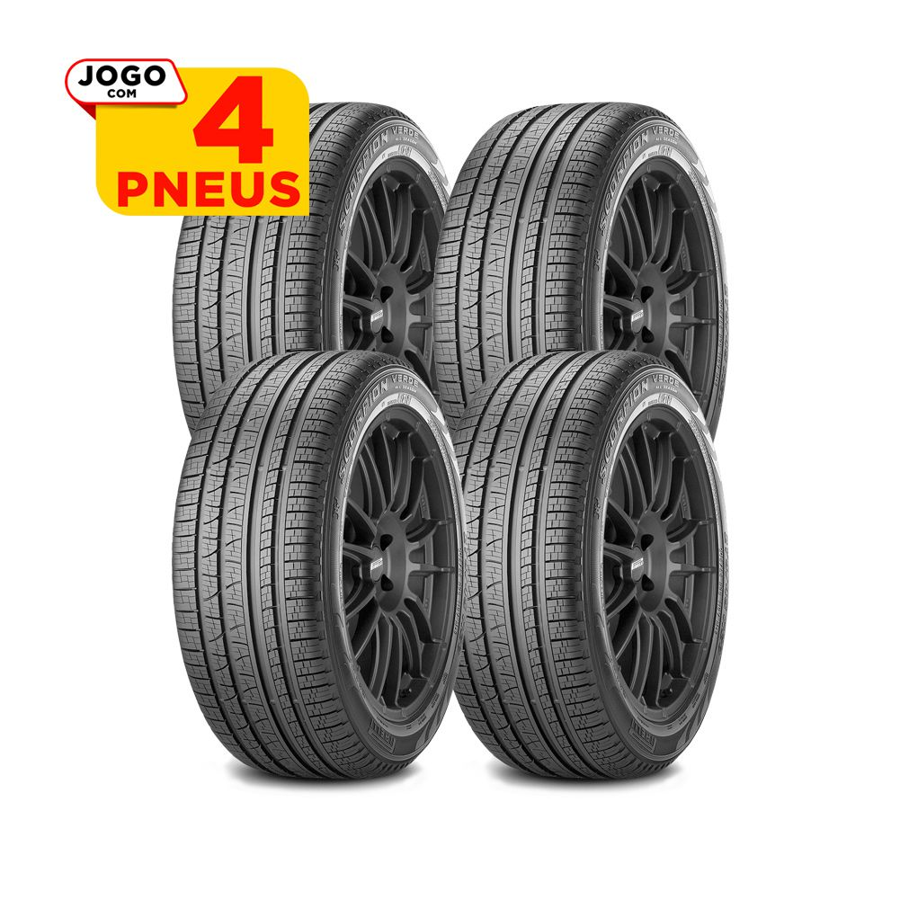 4 PNEUS PIRELLI ARO 18 - 235/60R18 - SCORPION VERDE ALL SEASON - 107V