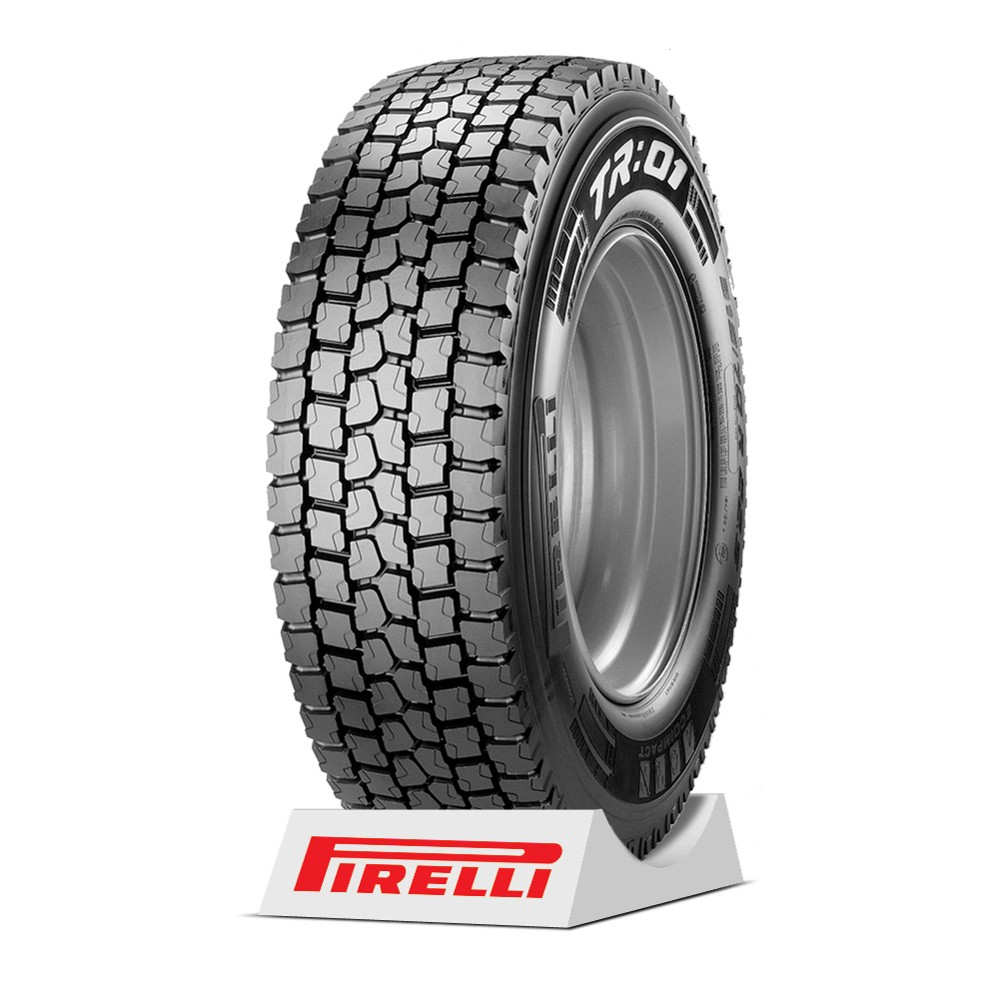 Pneu Pirelli aro 22.5 - 295/80R22.5 - TR01 - 152/148M