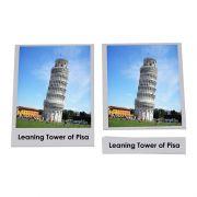 Cartões de Monumentos Famosos (em Inglês)