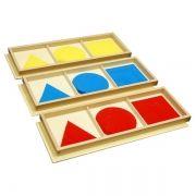 Círculos, Quadrados e Triângulos