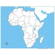 Controle para Mapa da África sem Partes Nomeadas
