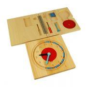 Relógio de Ensino Montessori