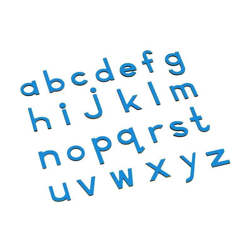 Alfabeto Móvel Bastão Pequeno sem Caixa - Azul