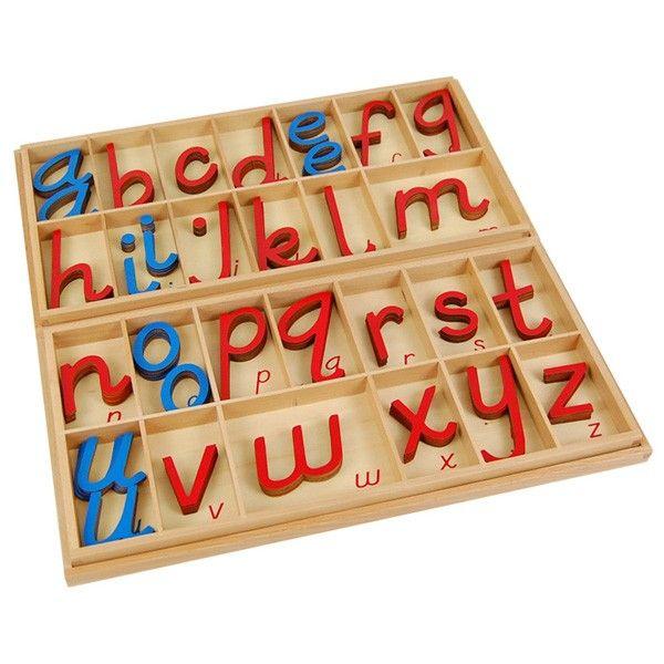 Alfabeto Móvel D'Nealian Grande com Caixa