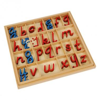 Alfabeto Móvel D'Nealian Pequeno com Caixa