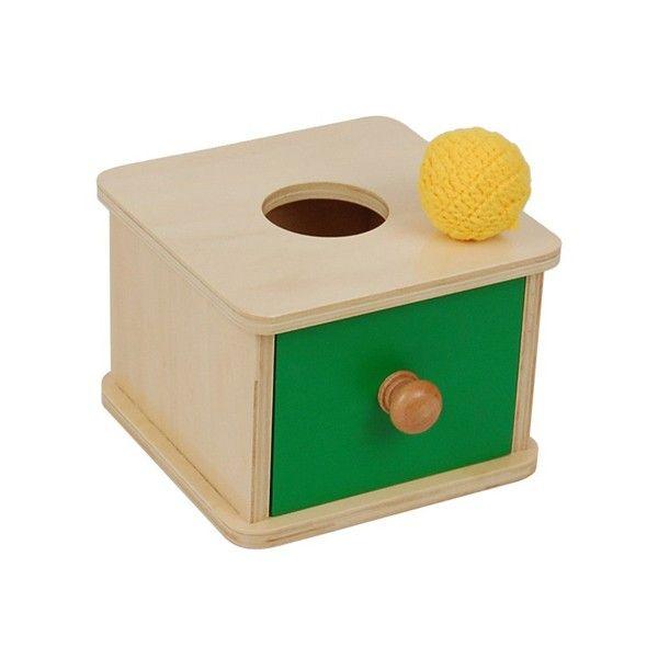 Caixa de Encaixar com Bola de Malha