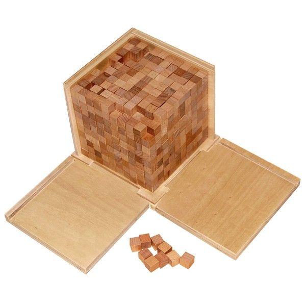 Caixa de Volume com 1000 Cubos