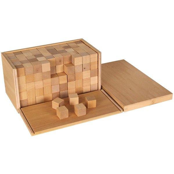 Caixa de Volume com 250 Cubos