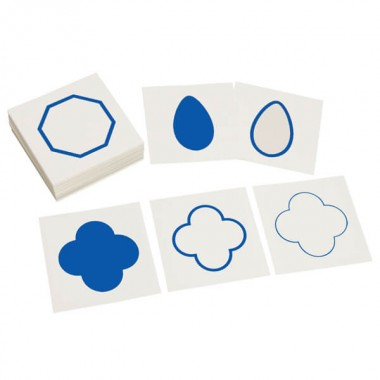 Cartões para Gabinete de Figuras Geométricas