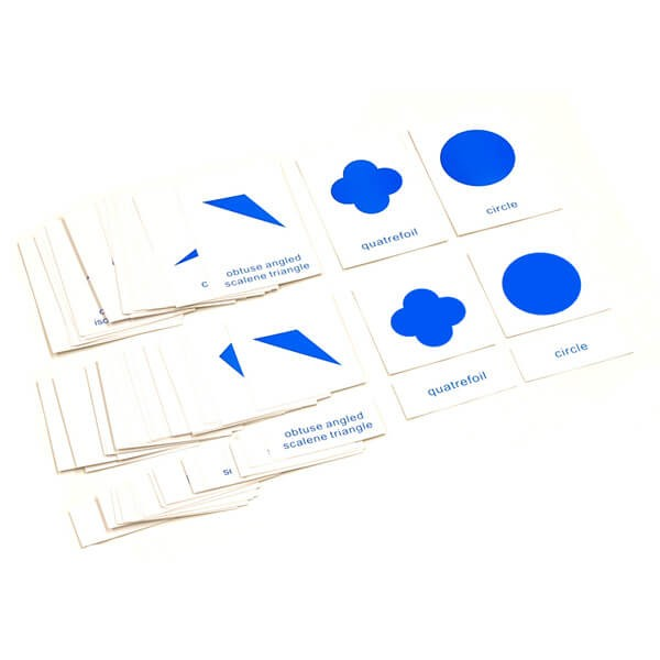Cartões de Nomenclatura para Gabinete Geométrica em Inglês