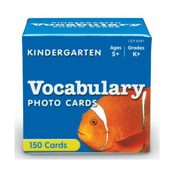 Cartões de Vocabulário para Pre-Escola em Inglês