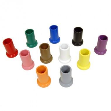 Conjunto de 11 Porta-Lápis Coloridos