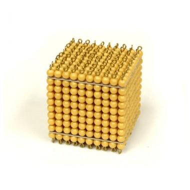 Cubo do Milhar (1000 Contas Douradas)