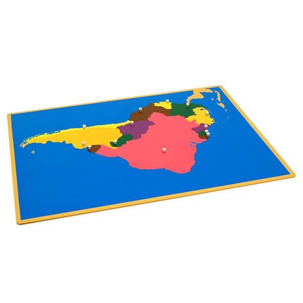 Quebra-Cabeça da América do Sul