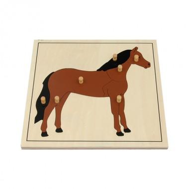 Quebra-Cabeça de Cavalo