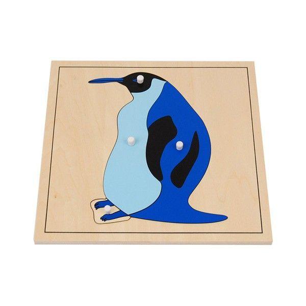 Quebra-Cabeça de Pinguim