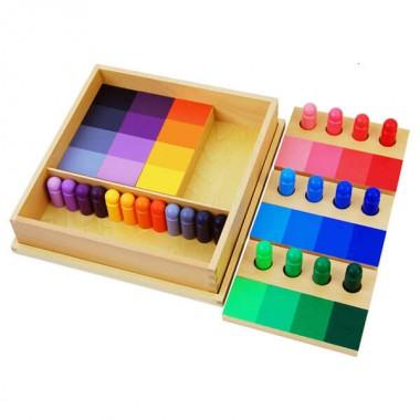 Caixa de Classificação de Semelhança de Cores