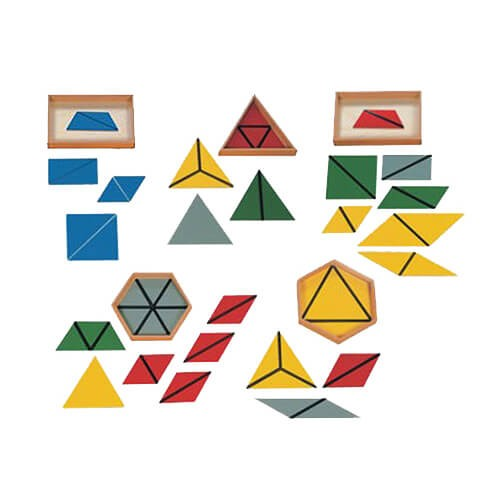 Triângulos Construtivos com 5 Caixas
