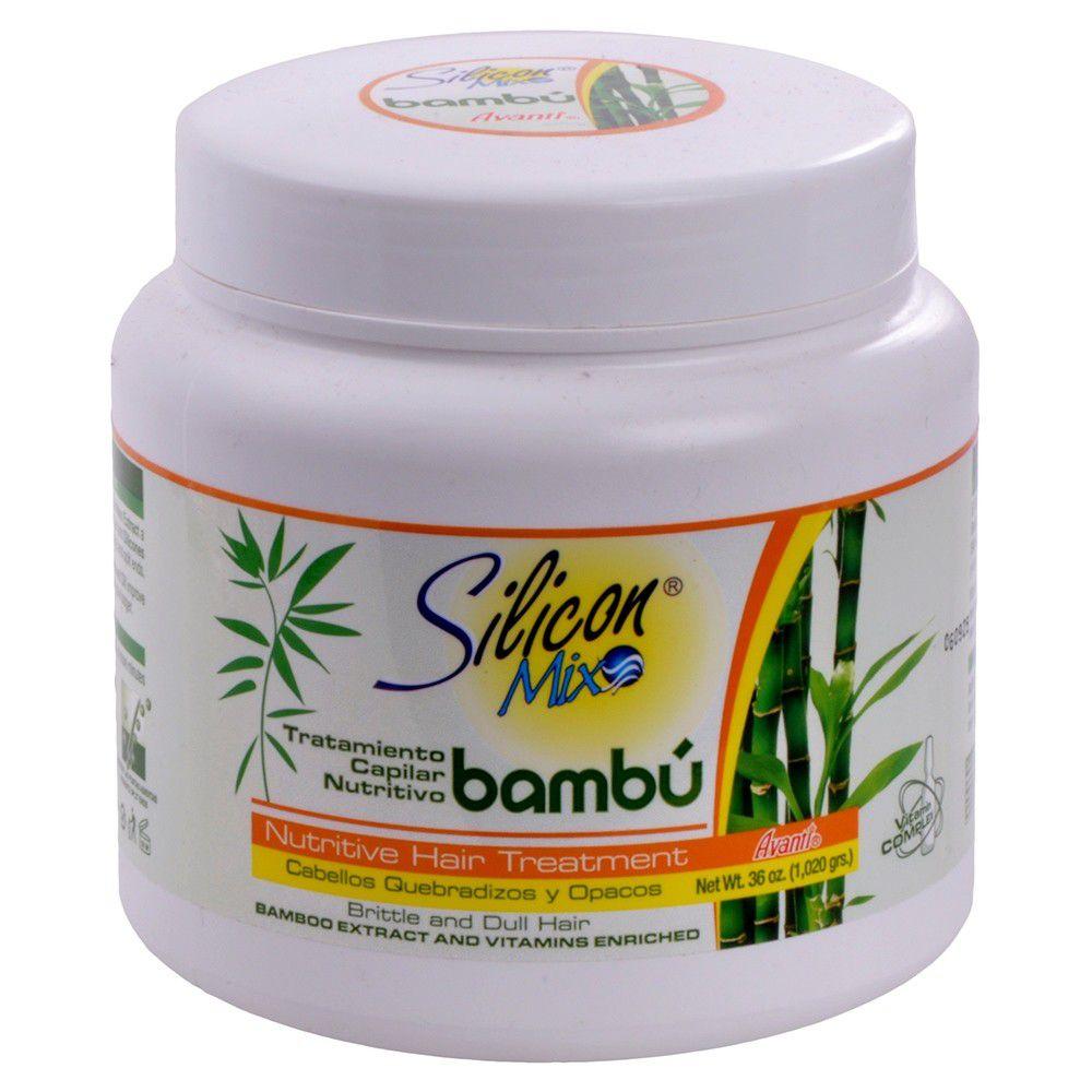 Máscara Silicon Mix Bambú Nutritivo 1kg