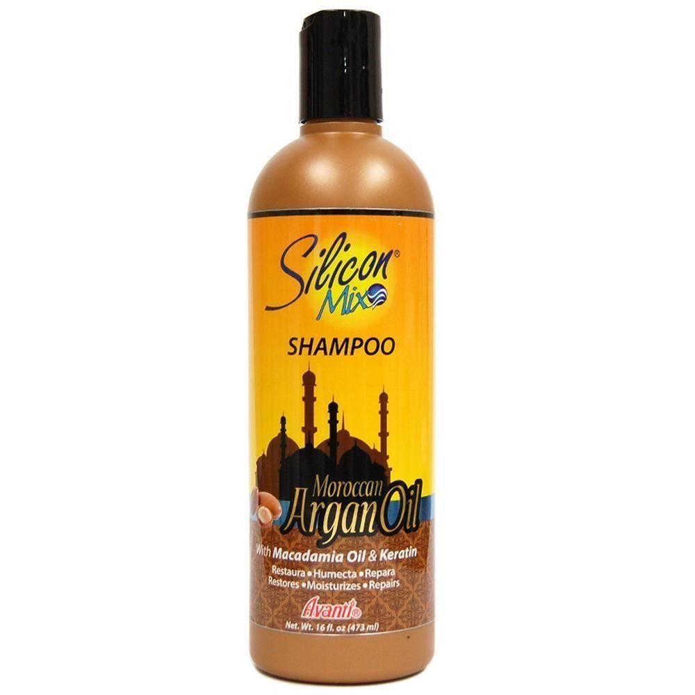Silicon Mix Moroccan Argan Oil Shampoo 473ml