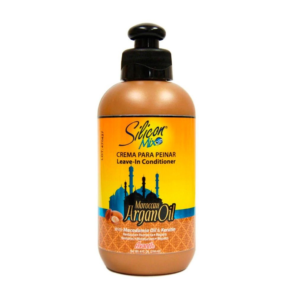 Silicon Mix Argan Oil Moroccan Leave-in 236ml