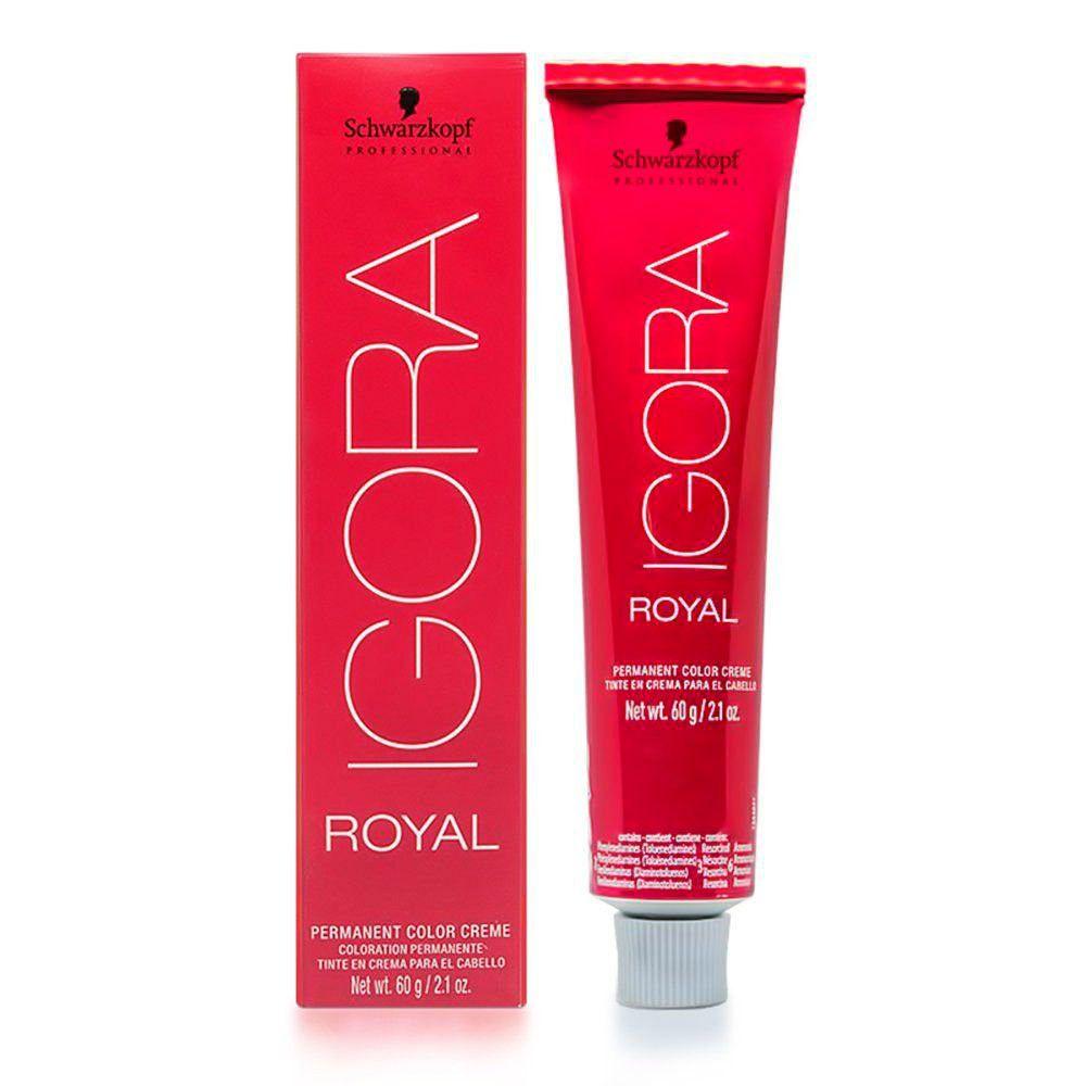Coloração Igora Royal 7.77 Louro Médio Cobre Extra 60g
