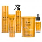 Itallian Trivitt Kit Profissional para Hidratação 5 Produtos
