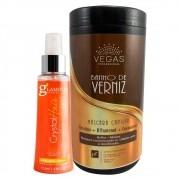 Kit Vegas Professional Máscara + Fluído 2 Produtos