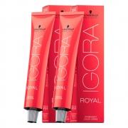 Kit 1 Coloração Igora Royal 8-0 e 1 Igora 8-4