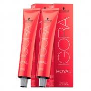 Kit 1 Coloração Igora Royal 9-7 E 1 Igora Royal 0-77