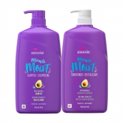 Kit Aussie Miracle Moist Jojoba Oil Sh e Cond - 2 Produtos