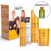 Kit Cauterização Itallian Trivitt - 4 produtos