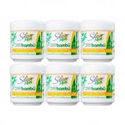 Kit Máscara Silicon Mix Bambú Nutritivo - 6 un