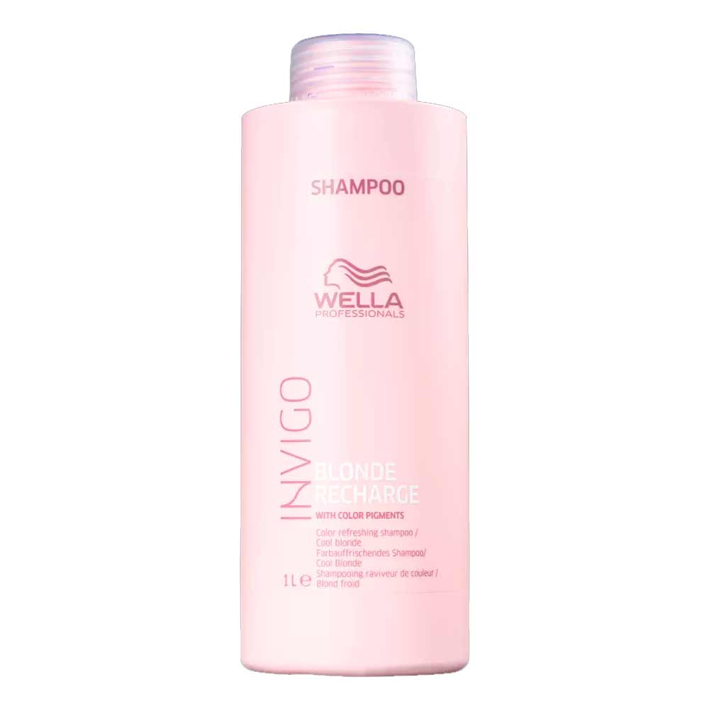 Shampoo Wella Invigo Blonde Recharge 1000ml