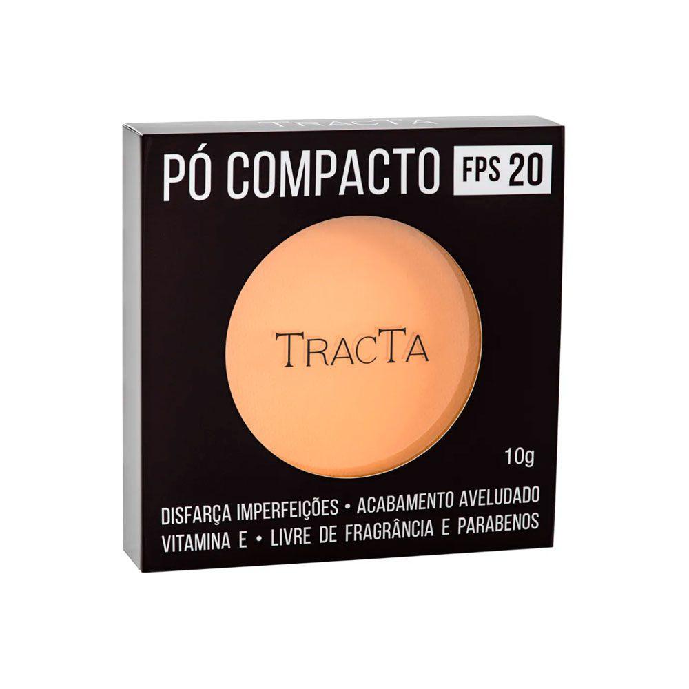 Pó Compacto Tracta FPS 20 - 02 10g