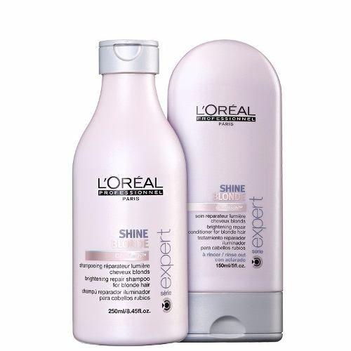 Loreal Profissional Shine Blonde Matizador Duo Kit