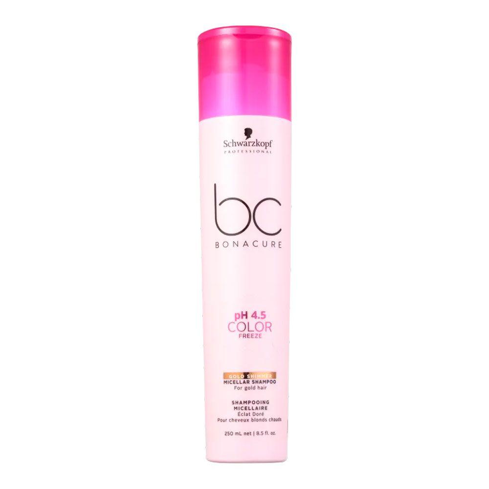 Shampoo Schwarzkopf BC Color Freeze Gold Shimmer 250ml