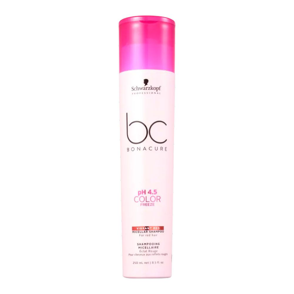 Shampoo Schwarzkopf BC Color Freeze Vibrant Red 250ml