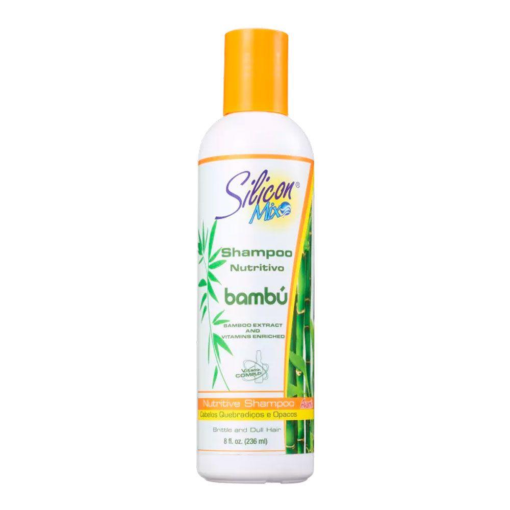 Shampoo Silicon Mix Bambú Nutritivo 236 ml